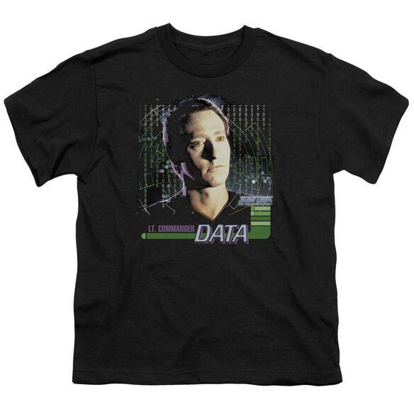 Star Trek Data Short Sleeve Youth T-Shirt