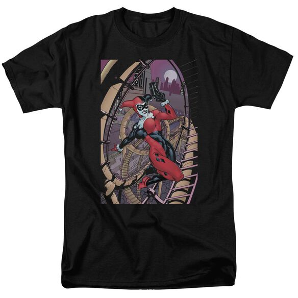 Batman Harley First Short Sleeve Adult T-Shirt