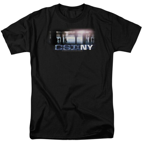 Csi New York Subway Short Sleeve Adult T-Shirt