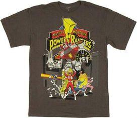 Power Rangers Megazord Group T-Shirt