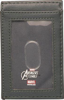 Captain America Metal Badge ID Card Wallet
