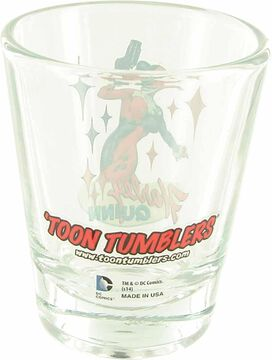 Harley Quinn Mini Toon Tumbler Shot Glass