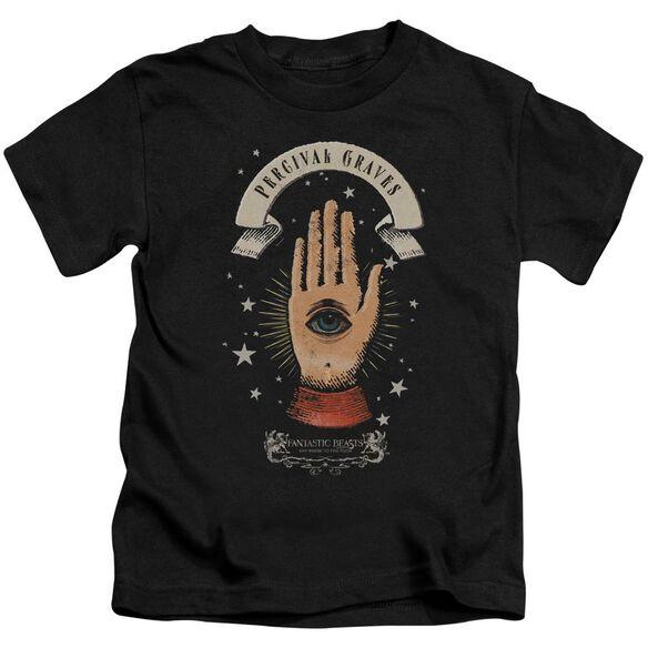 Fantastic Beasts Percival Graves Short Sleeve Juvenile Black T-Shirt