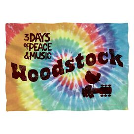 Woodstock Tie Dye (Front Back Print) Pillow Case