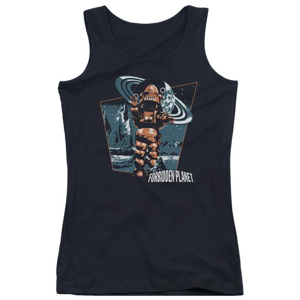 Forbidden Planet Robby Walks Juniors Tank Top