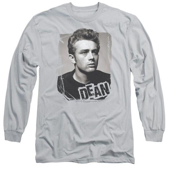 Dean Broken Border Long Sleeve Adult T-Shirt