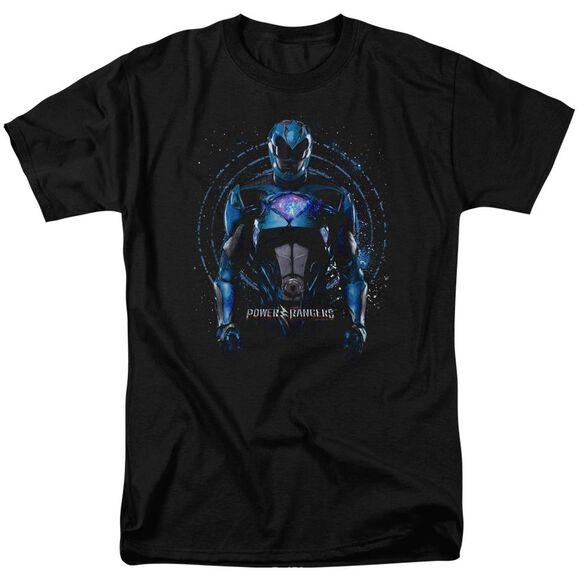 Power Rangers Blue Ranger Short Sleeve Adult T-Shirt
