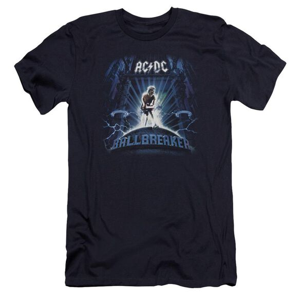 Acdc Ballbreaker Premuim Canvas Adult Slim Fit