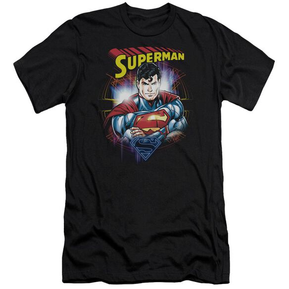 Superman Glam Premuim Canvas Adult Slim Fit