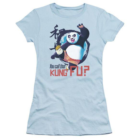 Kung Fu Panda Kung Fu Short Sleeve Junior Sheer Light T-Shirt