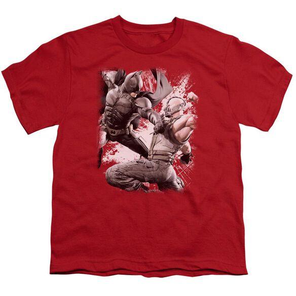 Dark Knight Rises Final Fight Short Sleeve Youth T-Shirt