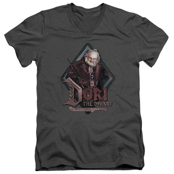 The Hobbit Dori Short Sleeve Adult V Neck T-Shirt