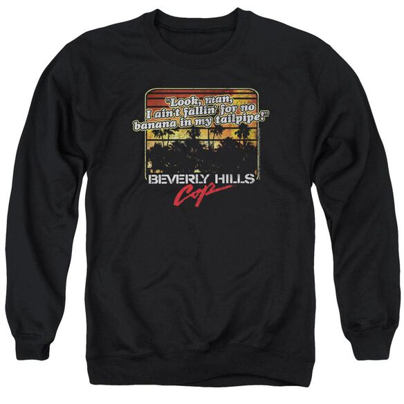 Beverly Hills Cop Banana In My Tailpipe Adult Crewneck Sweatshirt