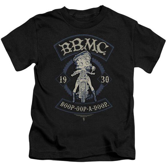 Betty Boop B.B.M.C. Short Sleeve Juvenile Black T-Shirt