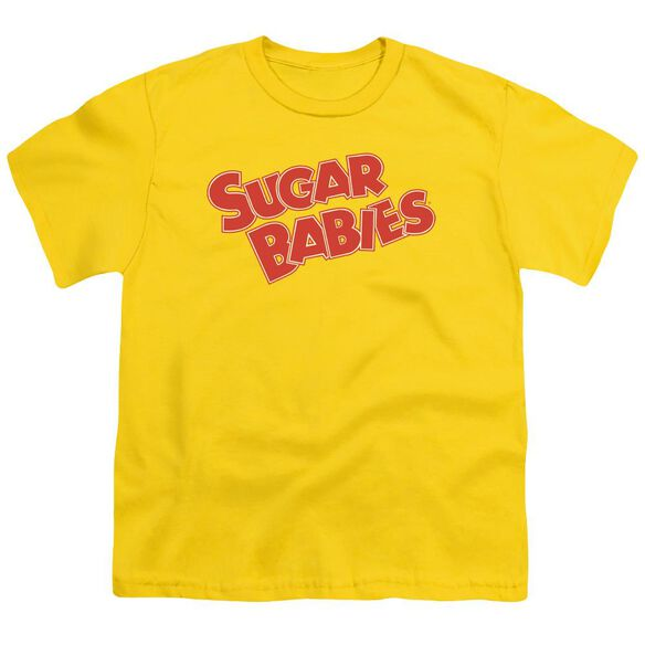 Tootsie Roll Sugar Babies Short Sleeve Youth T-Shirt