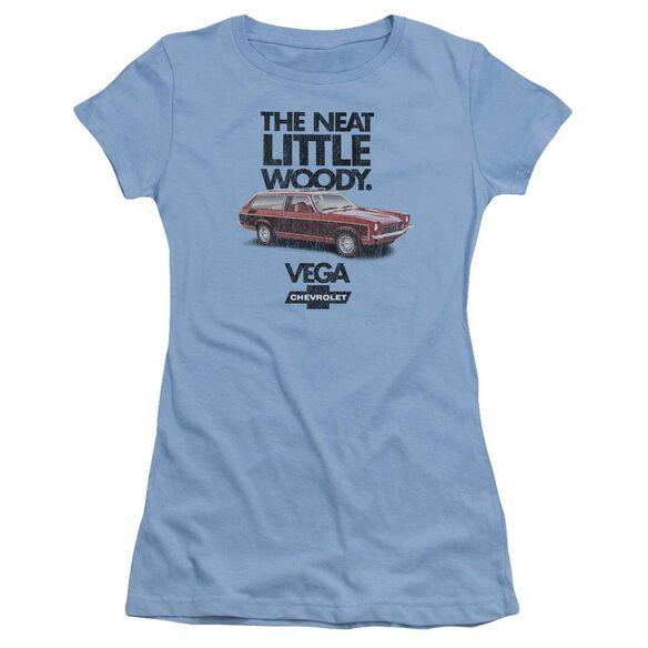 Chevrolet Vega The Neat Little Woody Short Sleeve Junior Sheer Carolina T-Shirt
