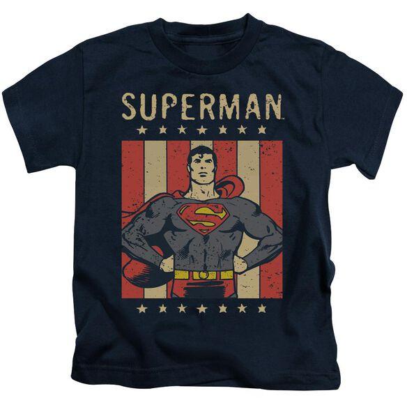 Dc Retro Liberty Short Sleeve Juvenile T-Shirt