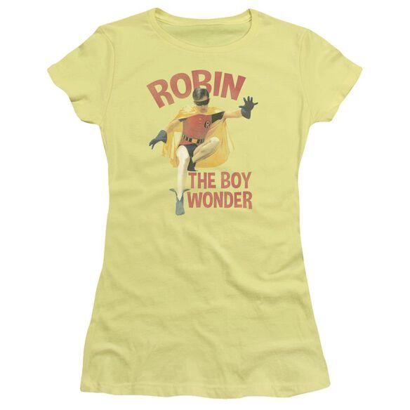Batman Classic Tv Boy Wonder Short Sleeve Junior Sheer T-Shirt