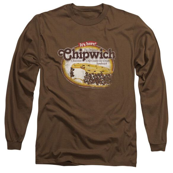 Chipwich Distressed Chipwich Long Sleeve Adult T-Shirt
