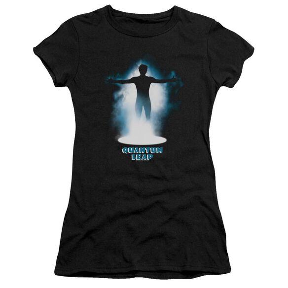 Quantum Leap First Jump Short Sleeve Junior Sheer T-Shirt