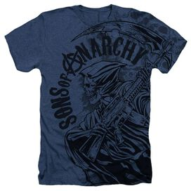 Sons Of Anarchy Reaper Skulls Adult Heather