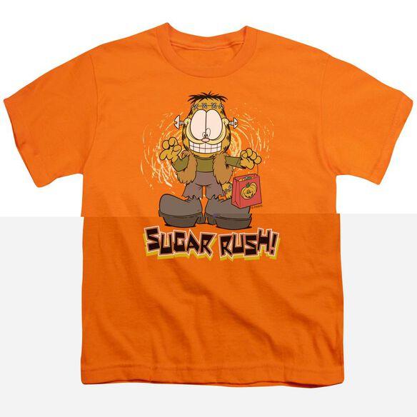 GARFIELD SUGAR RUSH - S/S YOUTH 18/1 - ORANGE T-Shirt