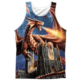 Anne Stokes Dragons Fury Adult 100% Poly Tank Top
