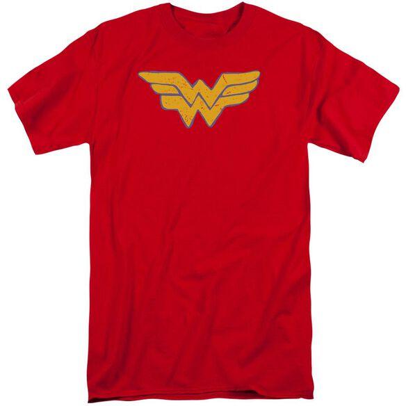 Jla Rough Wonder Short Sleeve Adult Tall T-Shirt