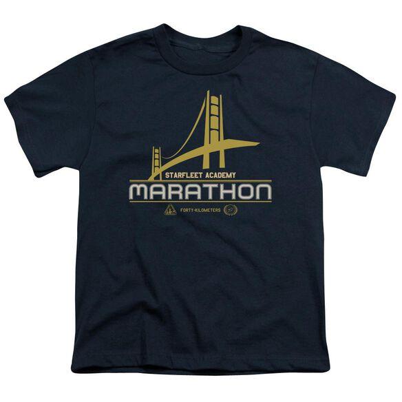 Star Trek Marathon Logo Short Sleeve Youth T-Shirt