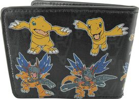 Digimon Agumon Warp Digivolve Wallet