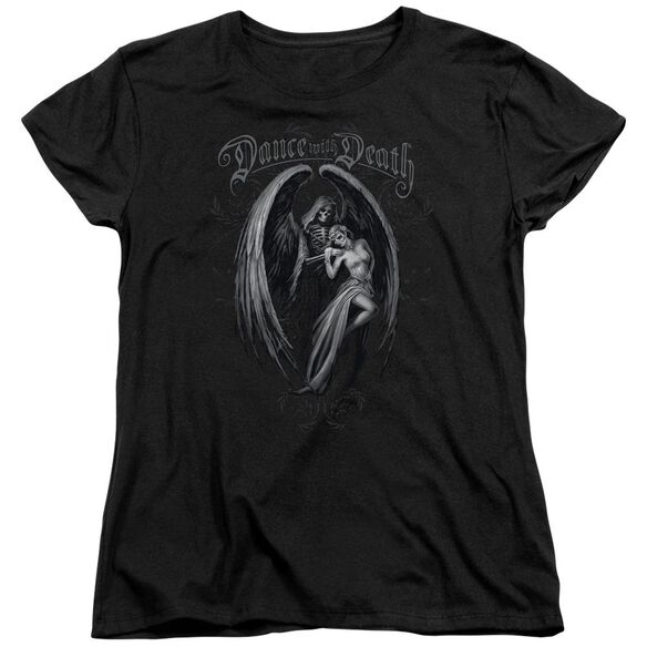 Anne Stokes Dance With Death Short Sleeve Womens Tee T-Shirt