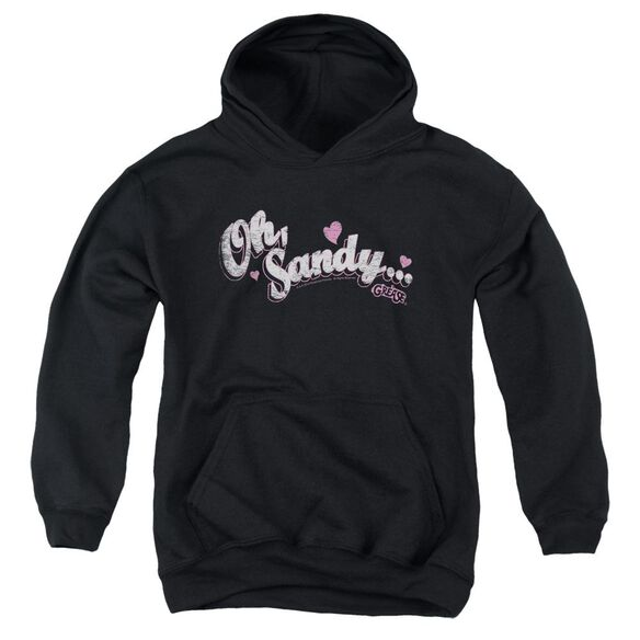 Grease Oh Sandy Youth Pull Over Hoodie