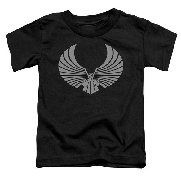 Star Trek Romulan Logo Short Sleeve Toddler Tee Black Sm T-Shirt