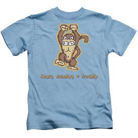 Angry Monkey Short Sleeve Juvenile Carolina T-Shirt