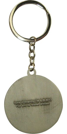 Sons of Anarchy Moto Club Metal Keychain