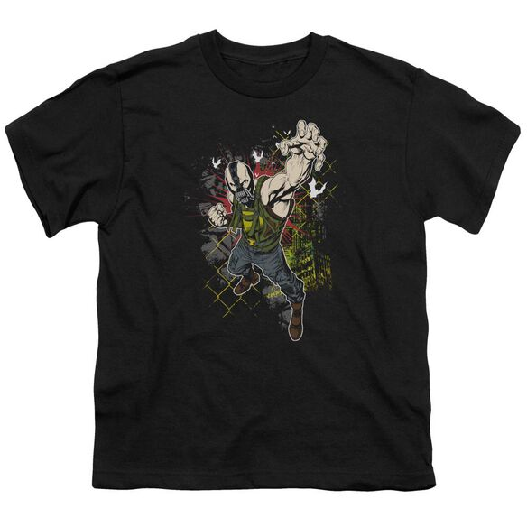Dark Knight Rises Bane Will Crush Short Sleeve Youth T-Shirt