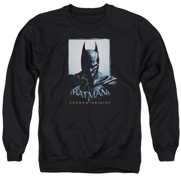 Batman Arkham Origins Two Sides Adult Crewneck Sweatshirt
