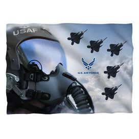 Air Force Pilot Pillow Case White