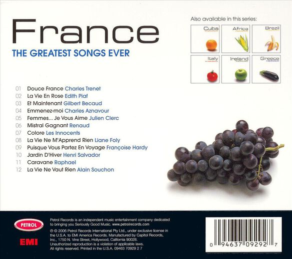 Greatest Songs Ever:Franc