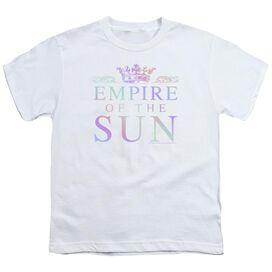 Empire Of The Sun Rainbow Logo Short Sleeve Youth T-Shirt