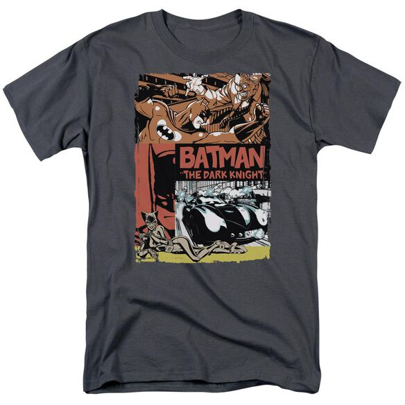 Batman Old Movie Poster Short Sleeve Adult T-Shirt