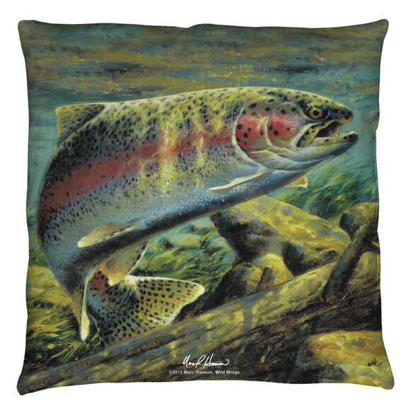 Wild Wings Rainbow Trout 2 Throw