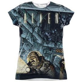 ALIEN LURKING-S/S JUNIOR T-Shirt