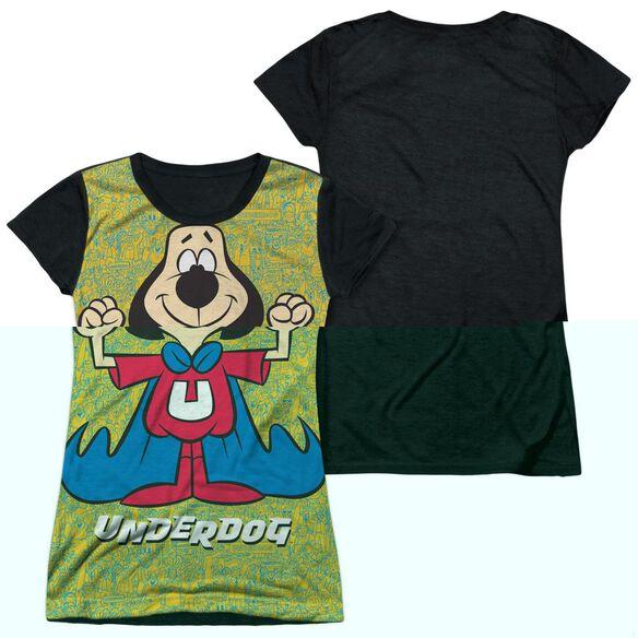 UNDERDOG FLEXING-S/S JUNIOR POLY T-Shirt
