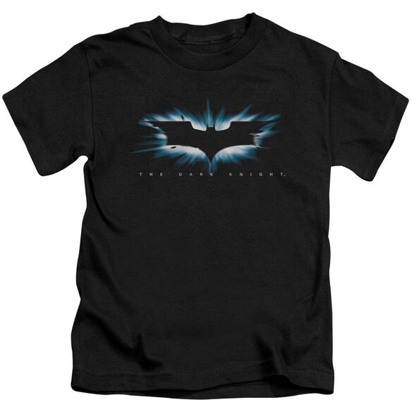 Dark Knight High Impact Burst Logo Short Sleeve Juvenile T-Shirt