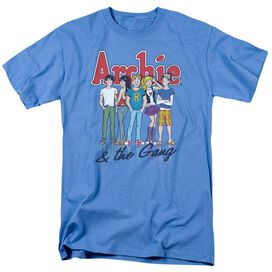 ARCHIE COMICS AND THE GANG - S/S ADULT 18/1 - CAROLINA BLUE T-Shirt