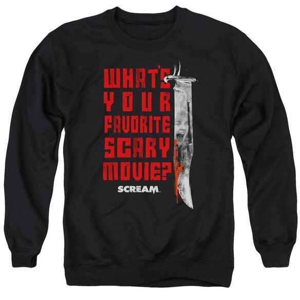 Scream Favorite Adult Crewneck Sweatshirt