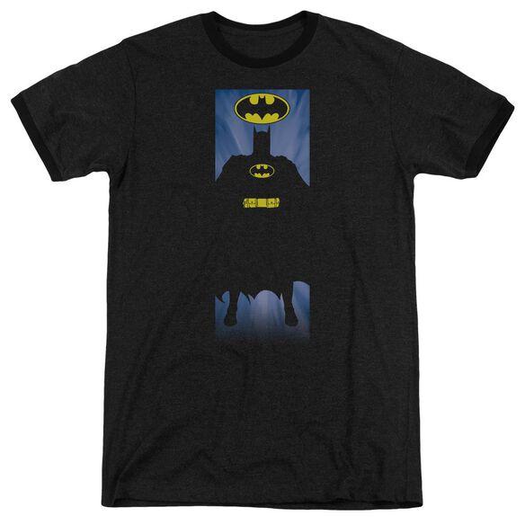 Batman Batman Block Adult Heather Ringer
