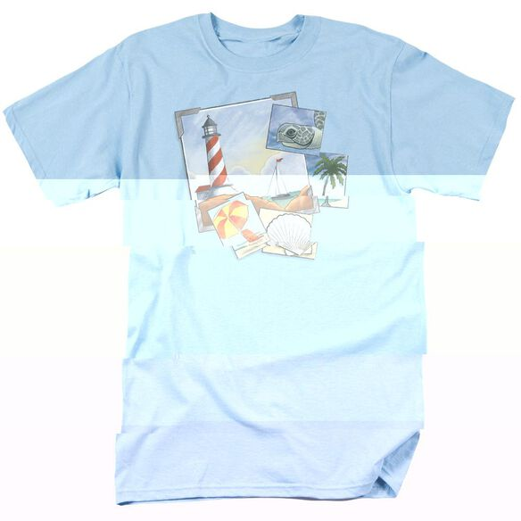 POSTCARDS - ADULT 18/1 - LIGHT BLUE T-Shirt