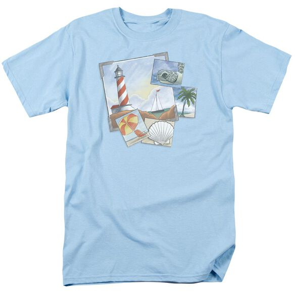 POSTCARDS- ADULT 18/1 - LIGHT BLUE T-Shirt